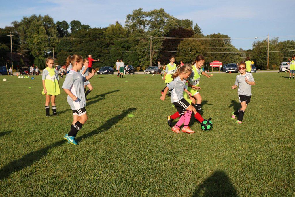 Soccer program.
